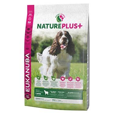 Dog nature adult medium lamb  10KG