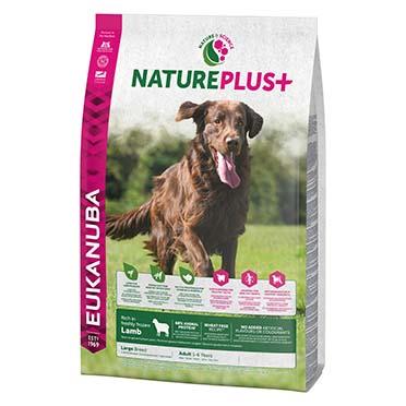 Dog nature adult large lamb  10KG