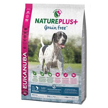 Dog nature adult grainfree salmon  2,3KG