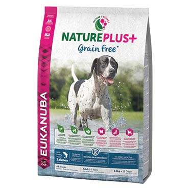 Dog nature adult grainfree salmon  10KG