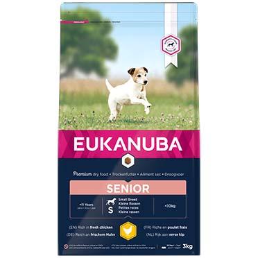 Euk dog caring senior small breed  3kg