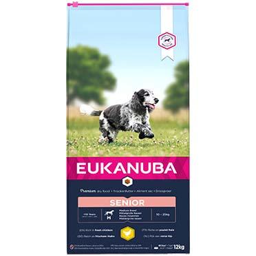 Euk dog caring senior medium breed  12kg