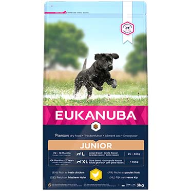 Euk dog developing junior large breed  3kg