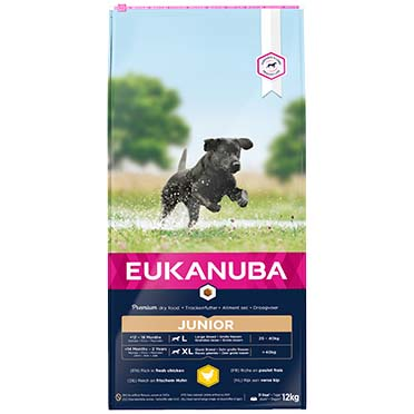 Euk dog developing junior large breed  12kg