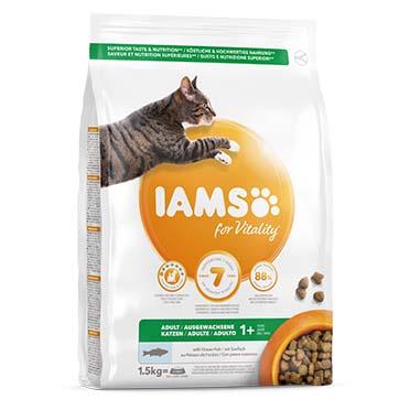 Iams for vitality adult cat ocean fish 1,5kg