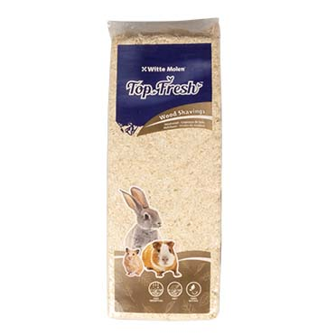 Top fresh wood shavings Natural 1kg