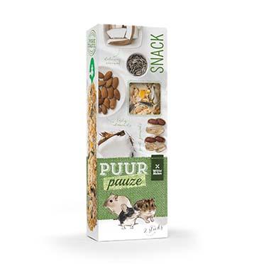 Puur pauze sticks almond & peanut  110gr