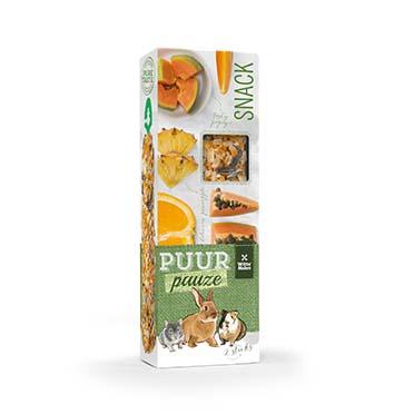 Puur pauze sticks orange & papaya  110gr