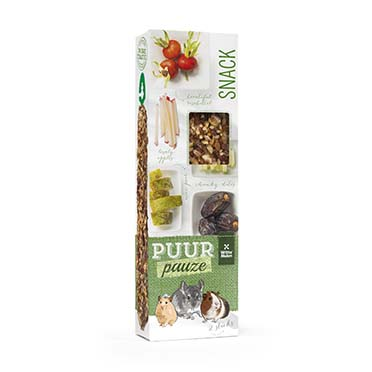 Puur pauze sticks pear and date  180gr
