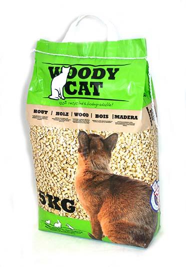 Cat litter woody cat 8l  8L/5KG